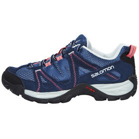 Salomon Kinchega Shoes Women stateblue/black/madder pink